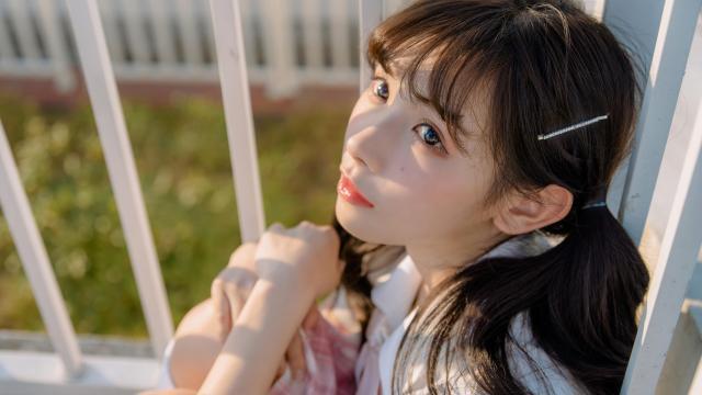 日系小清新jk美女甜美诱人写真插图1