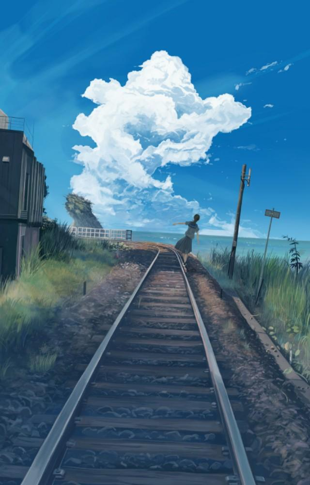 唯美动漫场景壁纸| 绝美的意境壁纸插图3