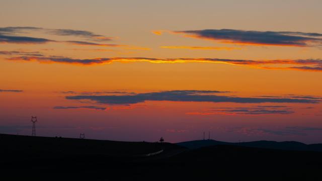 最美的草原日落插图8