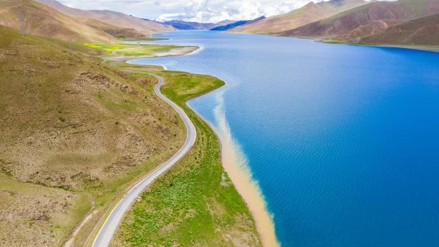 西藏圣湖羊卓雍措国庆旅游风景插图4