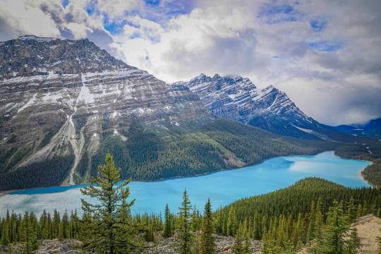 加拿大班夫国家公园秀丽自然风光插图5