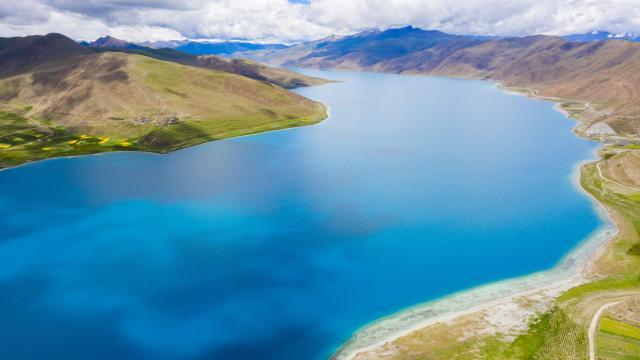 西藏圣湖羊卓雍措国庆旅游风景插图6