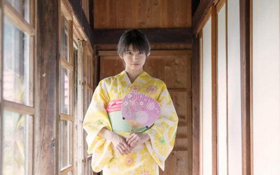 冷艳时间的日系和服美少女写真插图1