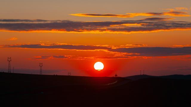 最美的草原日落插图4