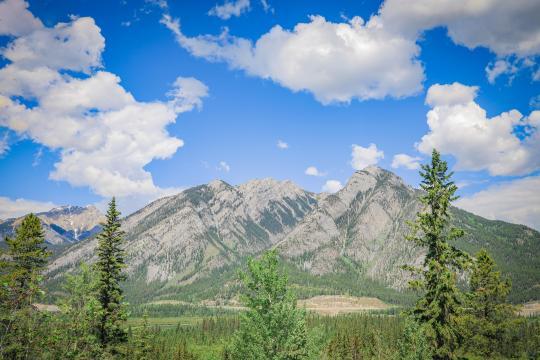 加拿大班夫国家公园秀丽自然风光插图7