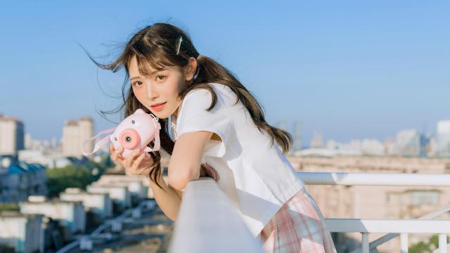 日系小清新jk美女甜美诱人写真插图8