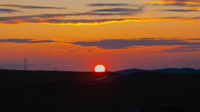 最美的草原日落插图6