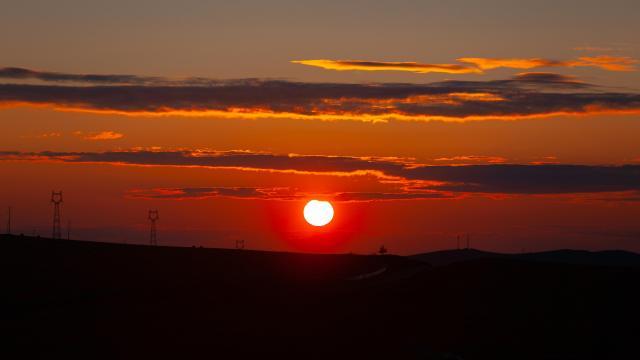 最美的草原日落插图3
