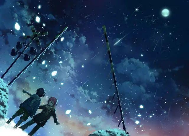 唯美动漫壁纸:星空系列,看不完人间的美景,道不尽人生的哲理!插图6