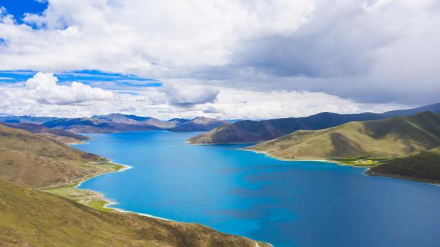 西藏圣湖羊卓雍措国庆旅游风景插图7