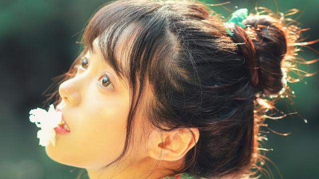 和服小仙女清新唯美写真插图6