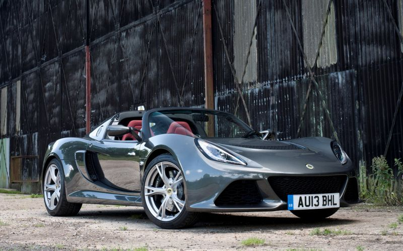 拉风的跑车高清lotus汽车壁纸图片插图