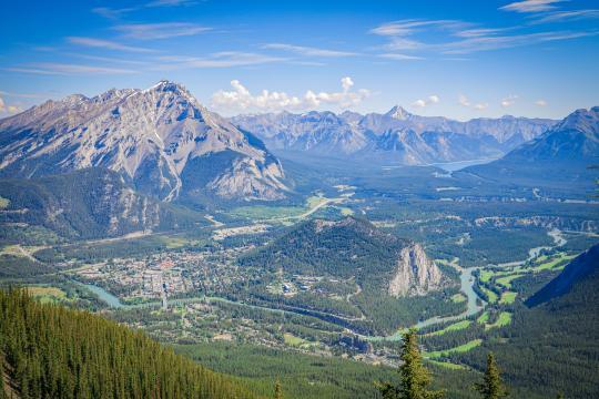加拿大班夫国家公园秀丽自然风光插图6