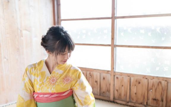 冷艳时间的日系和服美少女写真插图7