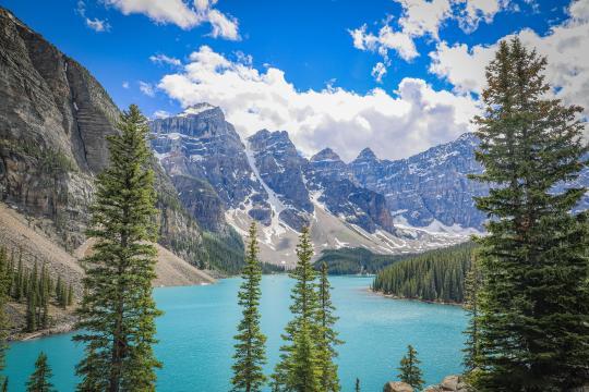 加拿大班夫国家公园秀丽自然风光插图