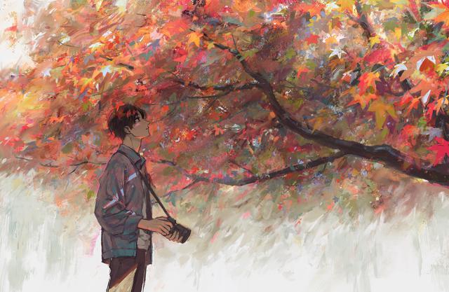 10张电脑高清动漫壁纸,愿你的生活和诗一样唯美插图5