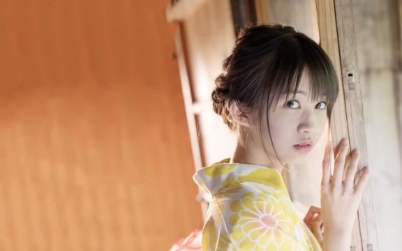 冷艳时间的日系和服美少女写真插图6