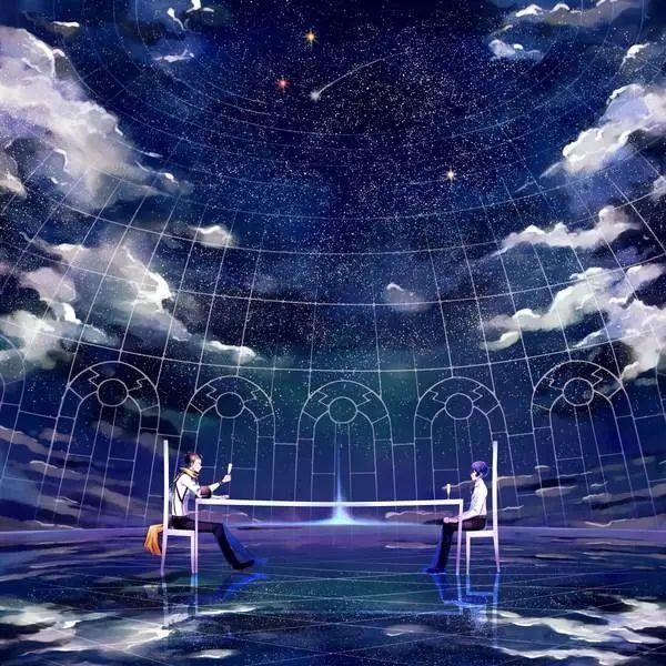 唯美动漫壁纸:星空系列,看不完人间的美景,道不尽人生的哲理!插图4