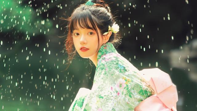 和服小仙女清新唯美写真插图8