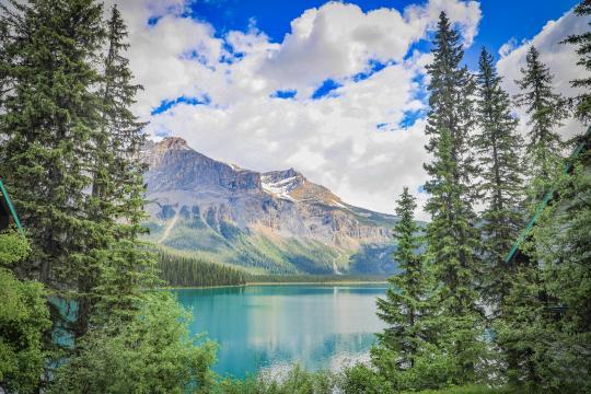 加拿大班夫国家公园秀丽自然风光插图3