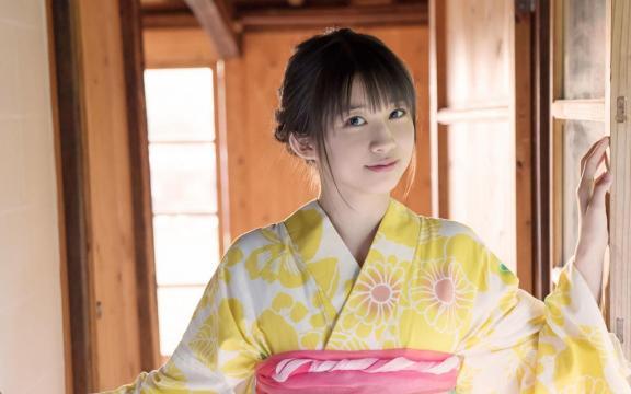 冷艳时间的日系和服美少女写真插图5