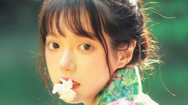 和服小仙女清新唯美写真插图7