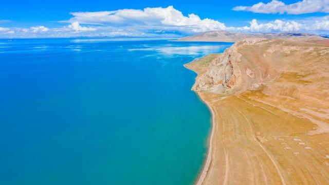 国庆旅游西藏色林措清新自然风光插图8