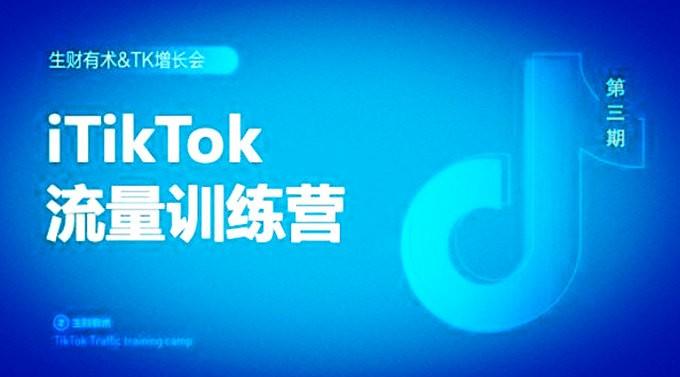 TikTok流量增长训练营:直奔海10亿用户量!【基础运营+涨粉+闭环导流】副业项目
