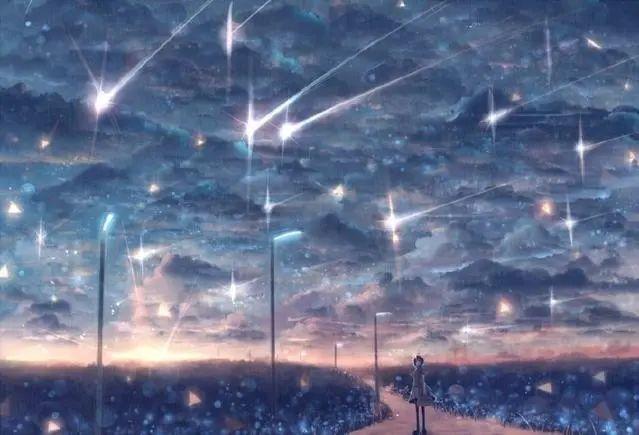 唯美动漫壁纸:星空系列,看不完人间的美景,道不尽人生的哲理!插图2