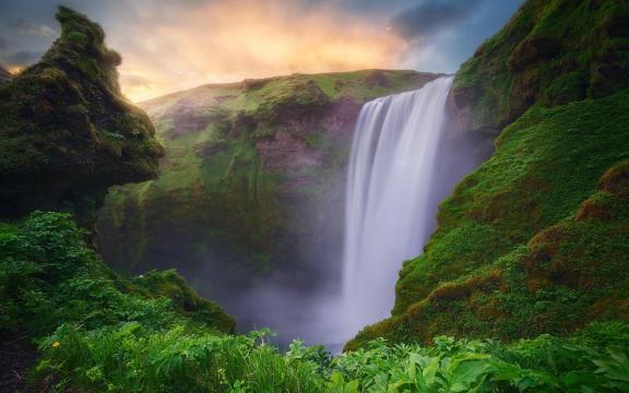 绝美的瀑布壮观美景图片插图8