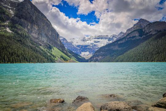 加拿大班夫国家公园秀丽自然风光插图4