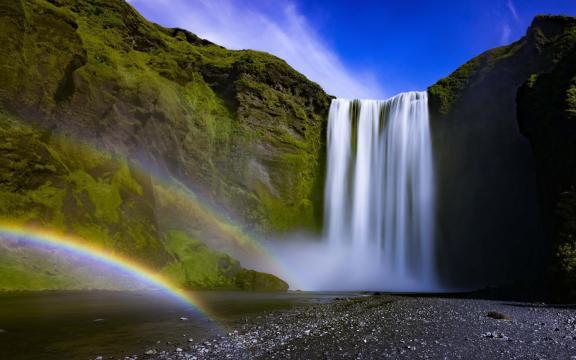 绝美的瀑布壮观美景图片插图2