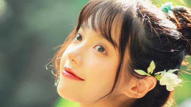和服小仙女清新唯美写真插图1