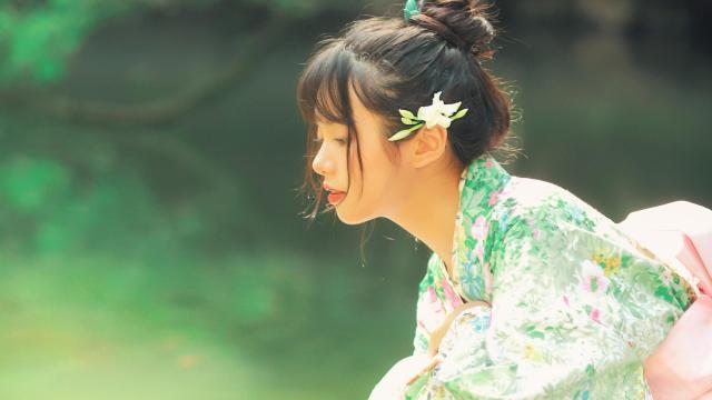 和服小仙女清新唯美写真插图5