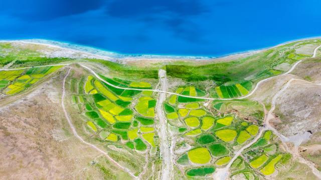 西藏圣湖羊卓雍措国庆旅游风景插图3