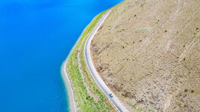 西藏圣湖羊卓雍措国庆旅游风景插图5
